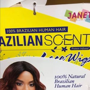 Janet Collection Accessories - 100% Brazilian Lace Wig